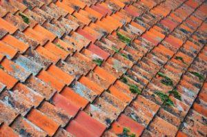Oud dak vervanging